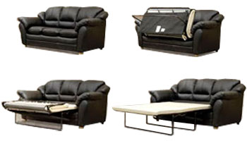 Внешний вид дивана с французской раскладушкой